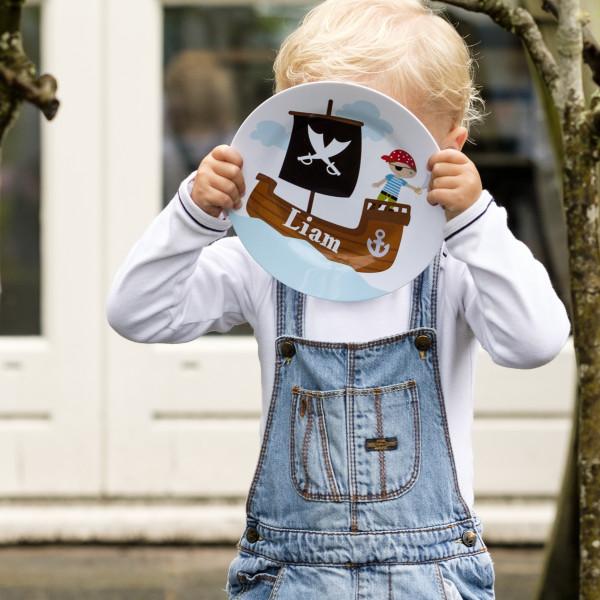 kinderbordje met naam - kid's plate with name