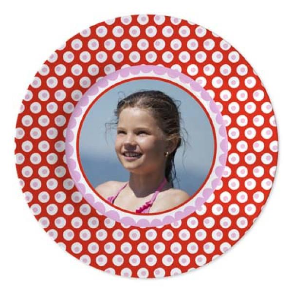 kinderbordje met foto - kid's plate with  a photo